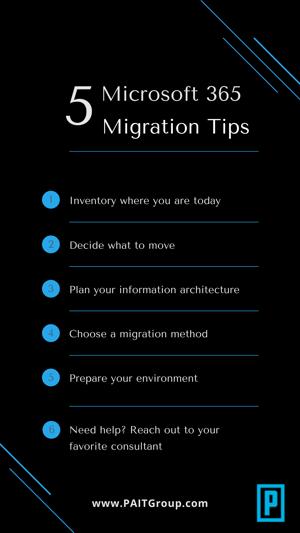 5 migration tips