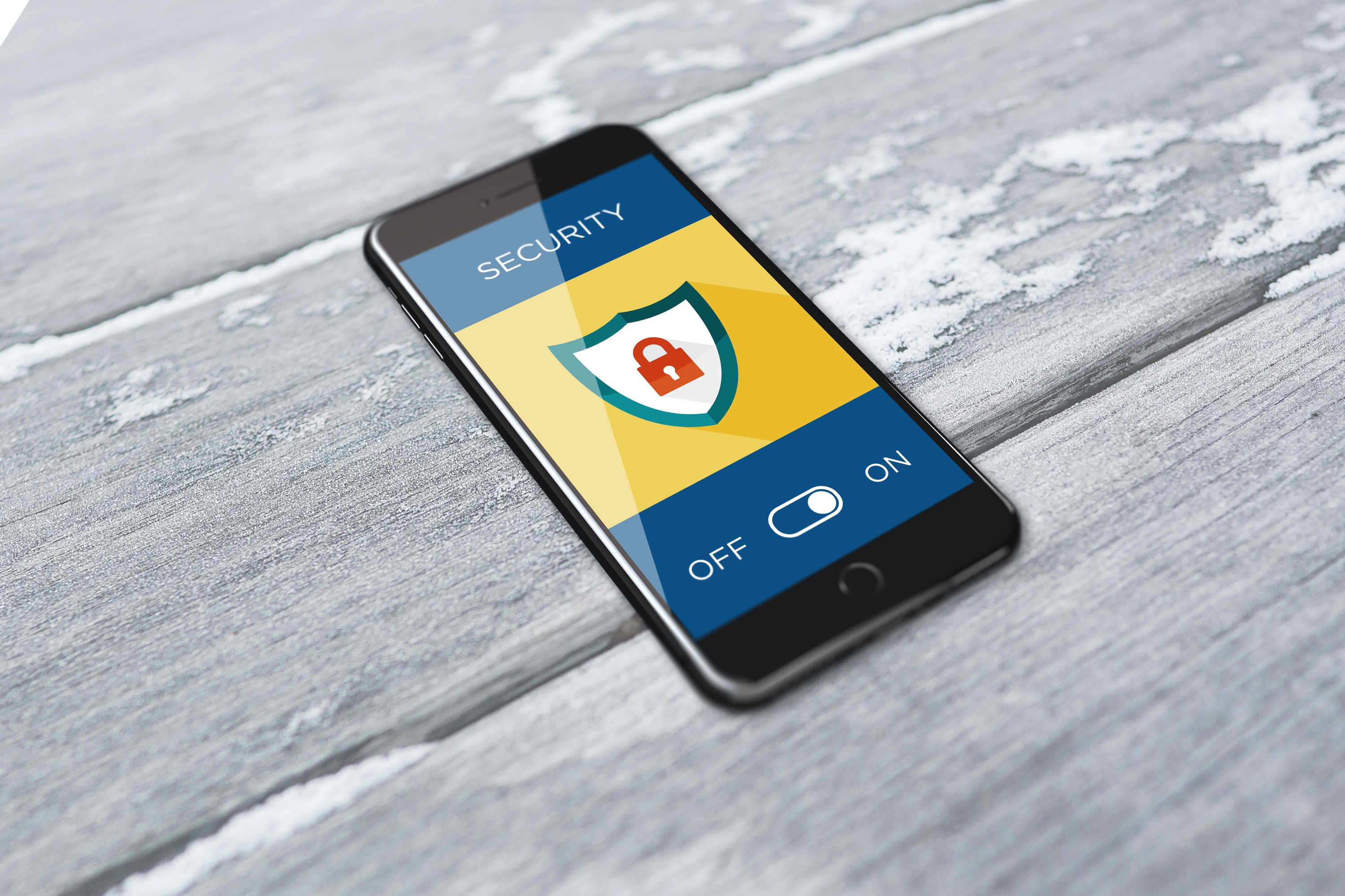 Canva - Smartphone Showing Activated Security System