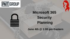 Microsoft 365 Security Planning