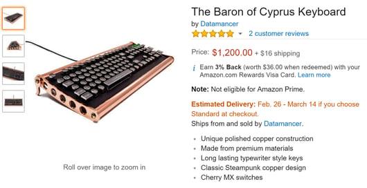 cyrpus keyboard