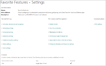Microsoft Lists SharePoint