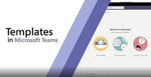 templates in Microsoft Teams