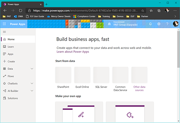 PowerApps Creation
