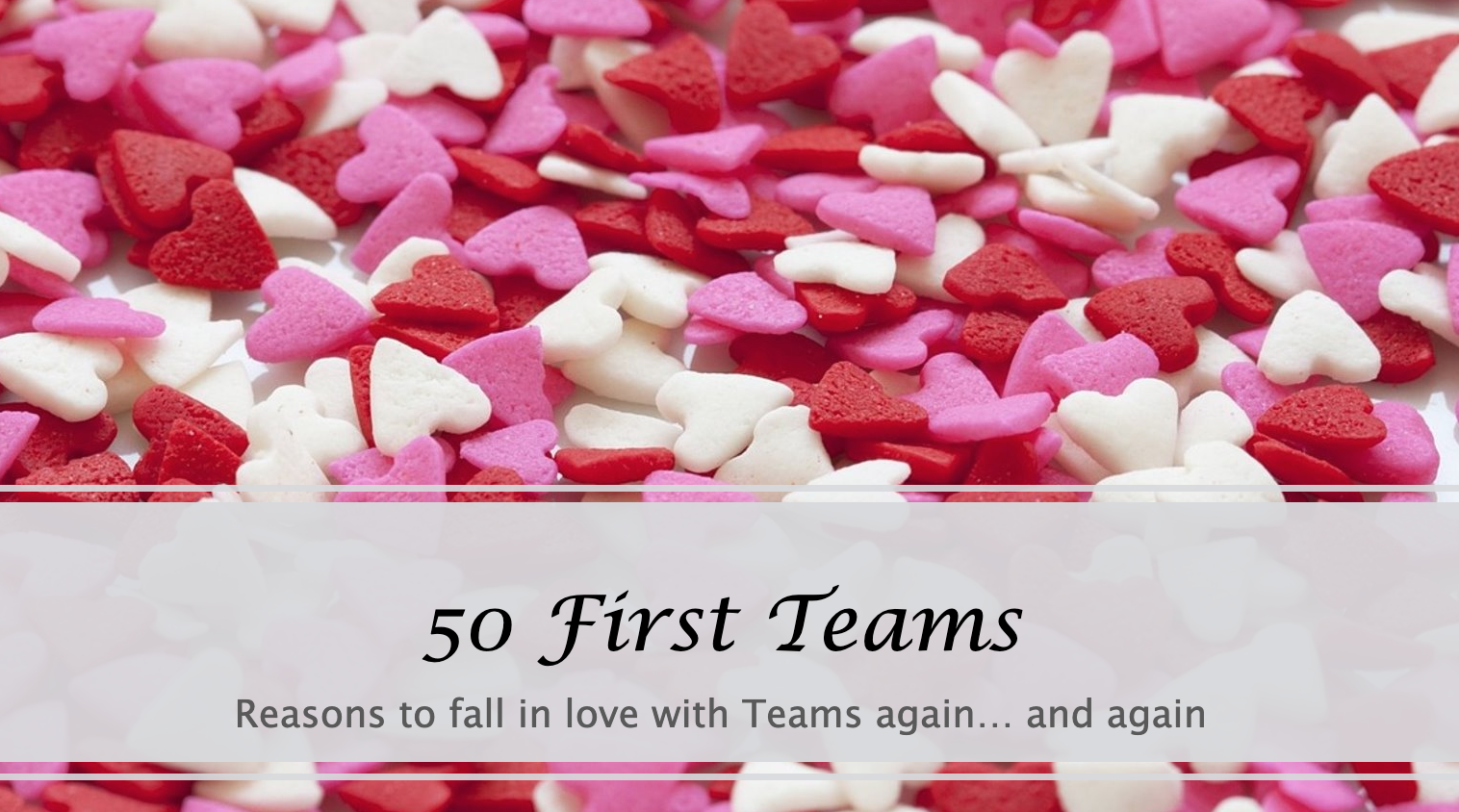 50 First Teams