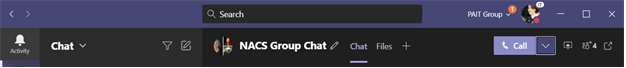 Microsoft Teams Group Calls