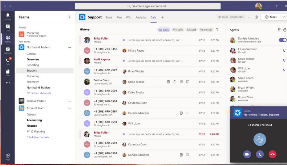 Microsoft Teams Collaborative Calls